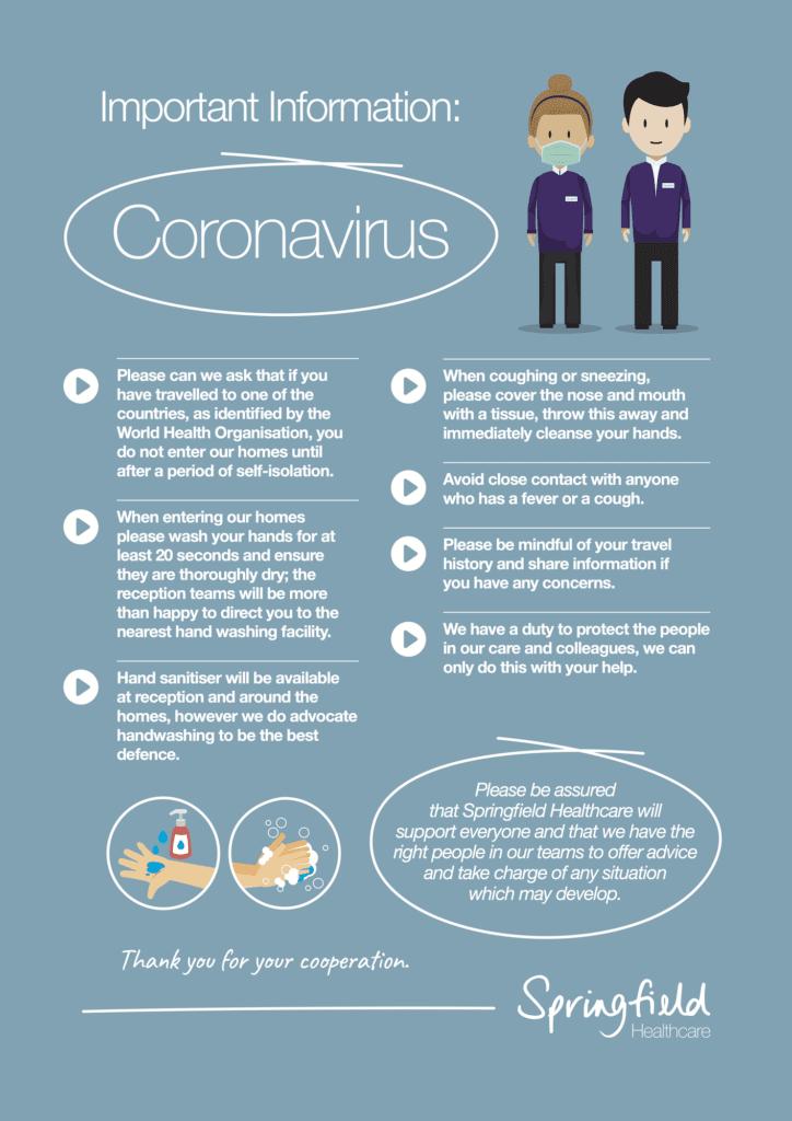 important information: coronavirus